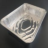 식사를 위해 포장하는 큰 길이 550mm 둥근 타원형 알루미늄 호일 특별한 음식 콘테이너