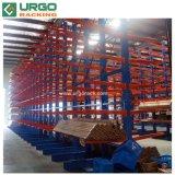 Revêtement en poudre Heavy Duty Cantilever plaque en acier ou en rack Rack de stockage