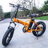 전기 자전거를 접히는 36V 350W 20inch 바퀴 뚱뚱한 타이어