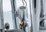 Buzina de ar do motociclo de prata para o sistema de alarme