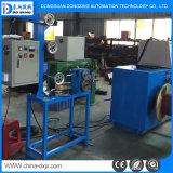 El eje de doble recoger el cable de la extrusión de la máquina de Producción por Cable