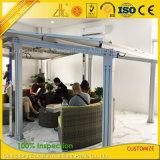 Le panneau solaire en aluminium personnalisé étire le toit pour l'énergie solaire
