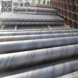 Soldado helicoidal de acero del tubo de tubo automática