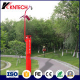 Park S.O.S Telephones Emergency Telephone Tower Outdoor Solar Tower Telephone