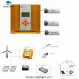 Regulador híbrido solar del cargador del viento de la apagado-Red de De-Ach 12V/24V MPPT del placer