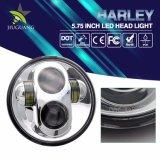 "Comercio al por mayor Ce RoHS 5,75"" de alta redonda LED 40W de luz de cruce faros moto"