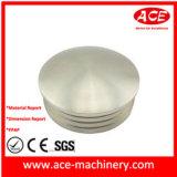 Placa que trabaja a máquina de aluminio del CNC, pieza que trabaja a máquina del CNC