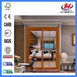 Porta de madeira de vidro do negócio estratificado do estilo (JHK-G18)