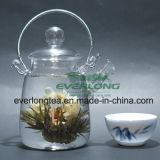 Китайский чай искусства ручной работы, аппарат для приготовления чая, цветущими чай, цветущего чай шарики с адаптированной подарочной упаковки (BT002)
