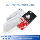 El plástico 2D 3D por sublimación de la cubierta de teléfono Asunto Teléfono