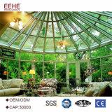 Glassunroom-vorfabriziertes Glashaus-feenhaftes Garten-Haus
