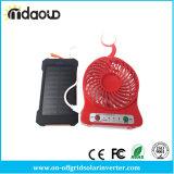 Le côté duel 20000mAh de pouvoir du côté USB d'énergie solaire imperméabilisent le panneau solaire portatif externe de Powerbank Bateria avec l'éclairage LED