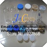 Frasco de Medicina de caucho de color diferentes tapas Flip Top para el llenado de líquido de esteroides