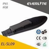 Everlite 50W COB Rue lumière LED ADC12 Die-Casting en aluminium