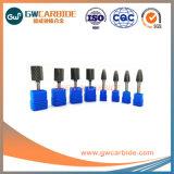 Disponible personnalisés Fraises en carbure de carbure de tungstène bavures rotatif