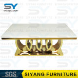 Стол обеденный стол из нержавеющей стали, мраморный обеденный стол мебель