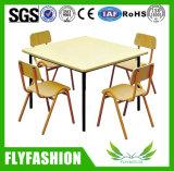 Meubles en bois d'enfants en garderie Kid's Table pour la maternelle utilisée (SF-43C)