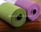 Couvre-tapis de gymnastique de yoga en caoutchouc normal de bande de forme physique d'exercice