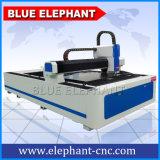 Machine de découpage bleue de laser de fibre du nouveau produit 1500W d'éléphant pour le découpage acrylique de forces de défense principale