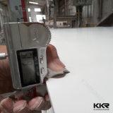 Superficie solida acrilica Veinining della pietra di marmo di pietra artificiale della resina di Kingkonree