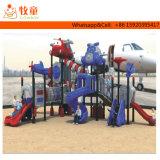Fußboden-im Freienkind-Spielplatz-Gerät der Cer-anerkannte Sicherheits-zwei