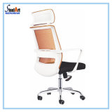 Quadro branco cadeira de escritório moderno Banco laranja