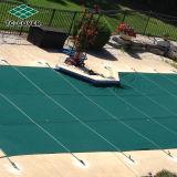 El mejor acoplamiento sobre la cubierta de seguridad de tierra de la piscina