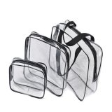 3개 크기 PVC 공간 여행 부대 운반물 방수 핸드백