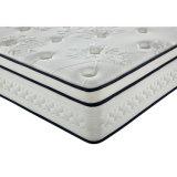 小型のスプリング入りマットレスの寝室の家具のためのヨーロッパの上の乳液のプラシ天のマットレス