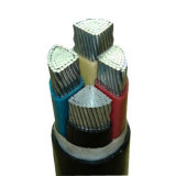 4core銅またはアルミニウムXLPEの絶縁体Swaの装甲電線
