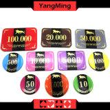 2017 o chipset novo do póquer do casino do projeto RFID/com alumínio lasca a caixa (YM-RFID001)