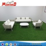 Haltbares Garten-Balkon-Patio-Seil-Sofa-gesetzte im Freienmöbel und türkische Sofa-Möbel