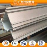 El aluminio/aluminio/aluminio Puerta de Extrusión de perfil con el tratamiento de electroforesis