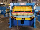 Feuille de métal de refendage en ligne de production