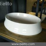 Lavabo del tazón de fuente de los cuartos de baño del diseñador para la tapa de la vanidad del cuarzo (3237)