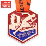 Venta caliente precio de fábrica barata Marathou personalizado el deporte de la mitad de la medalla de correr