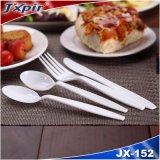 처분할 수 있는 대중음식점 칼붙이 세트, 플라스틱 포크 및 칼 식기