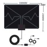 LAN-1040에 의하여 HDTV 안테나 실내 디지털 증폭되는 텔레비젼 안테나 전력 공급 증폭기를 가진 50 마일 범위 를 위한