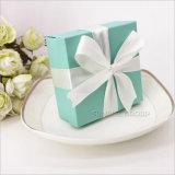 뚜껑을%s 가진 Handmade 작은 선물 상자 광택이 없는 옅은 푸른색 선물 상자