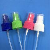 Spruzzatore della foschia del profumo con la bottiglia fine di plastica dello spruzzatore della foschia in pompa su ordinazione dello spruzzatore della foschia di colore