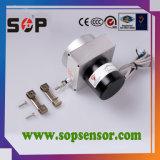 Sensor de alta resolución del codificador de la posición del alambre del drenaje para las altas medidas