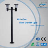 2~3m - все в одном для использования вне помещений LED солнечного света в саду с литой алюминиевый корпус