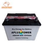 Pilha recarregável de ácido de chumbo para carga seca do acumulador de partida automática 12V 50AH