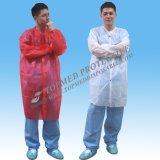 유동성 저항하는 처분할 수 있는 실험실 외투, 재킷 및 가운