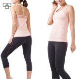 卸し売り方法完全な印刷の女子体操のタンクトップの適性の衣服