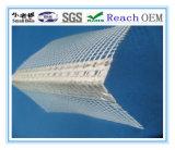 Cordón de la esquina de PVC/PVC malla de fibra de vidrio.
