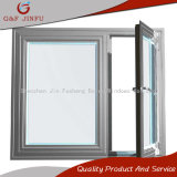 Openslaand raam Van uitstekende kwaliteit van het Aluminium van de levering het Macht Met een laag bedekte
