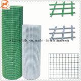 Il PVC ha ricoperto la rete metallica quadrata saldata saldata della rete metallica