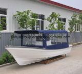 De Glasvezel Hull van de Vissersboot van de Beuglijn van Liya 25 Voet van de Vissersboot van de Tonijn