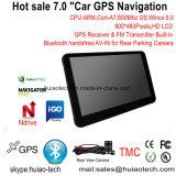 """Auto-LKW Soem-7.0 """" IPS Marine-GPS-Navigation mit FM Übermittler, Handels-in der hinteren Kamera, Hand-GPS-Navigationsanlage, Bluetooth für Handy, TMC-Verfolger, Fernsehapparat"""